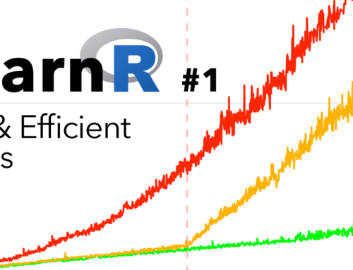 Learn R #1: There's no need to apply() yourself.