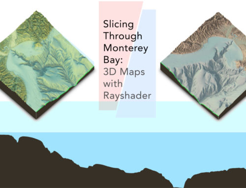 Slicing through Monterey Bay: Creating 3D Maps with Rayshader